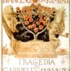 52. Adolfo de Carolis, manifesto per tragedia di D'Annunzio