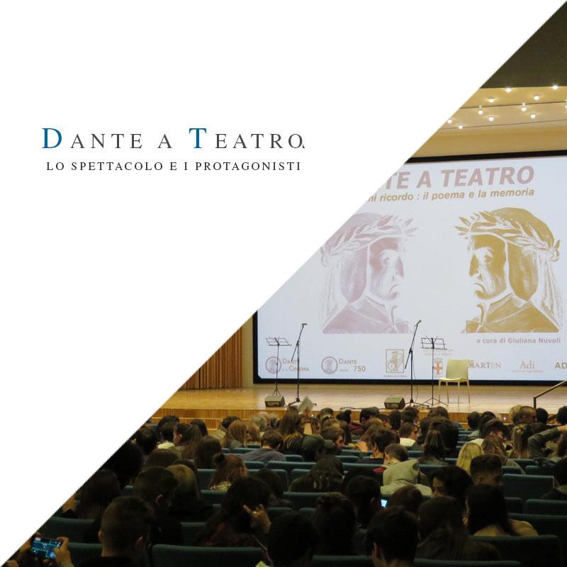 Dante a Teatro – Voci Dantesche