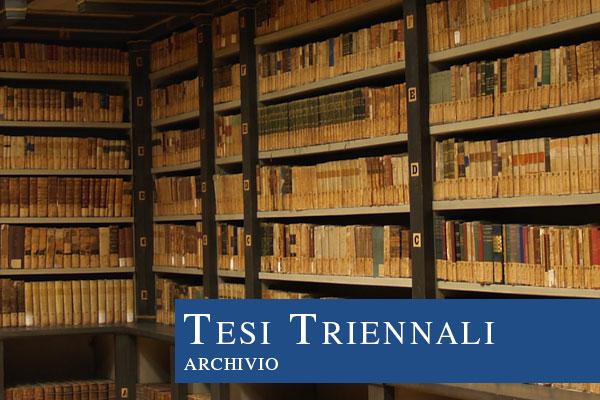 Tesi Triennali