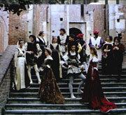 Alessandro Pontremoli e il gruppo di danza antica Il leoncello