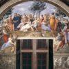 14. Raffaello Sanzio Parnaso n.1