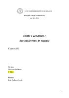 Dante e Jonathan. due adolescentI in viaggio (A50)