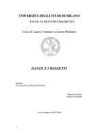 Dante e i Rossetti