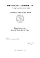 Dante e il fumetto Marcello Toninelli e Go Nagai