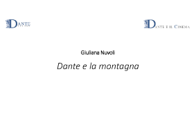 Dante e la montagna